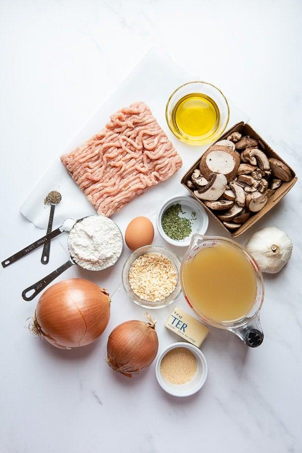 Salisbury Steak ingredients