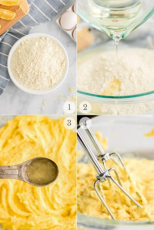 lemon cake mix cookies recipe steps photos 1-4