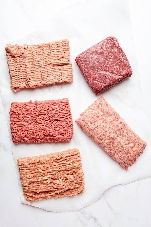 types of ground meat for Salisbury Steak