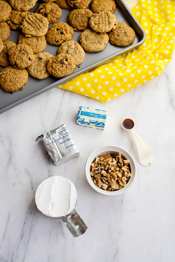 cream cheese cookie frosting ingredients
