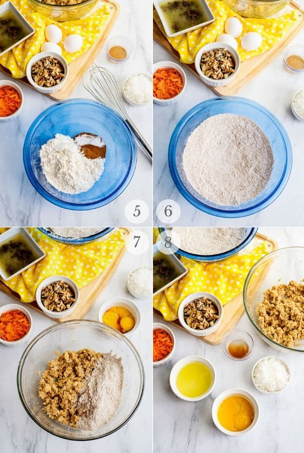 Carrot Cake Cookies recipes steps 5-8
