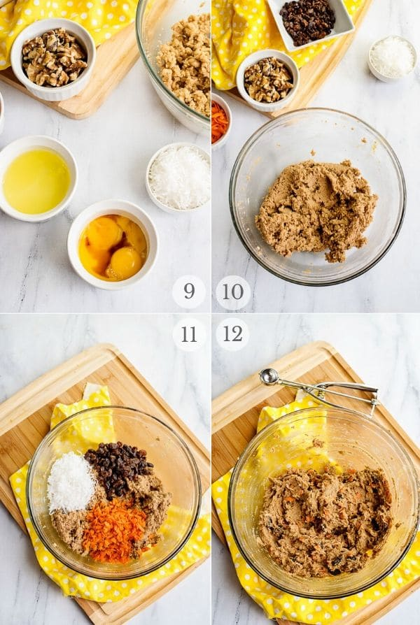 Carrot Cake Cookies recipes steps 9-12