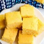 Cornbread recipe title image