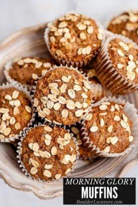 Morning Glory Muffins title image