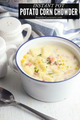 Potato Corn Chowder title image
