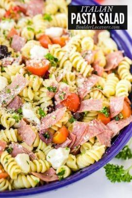 Italian Pasta Salad title image