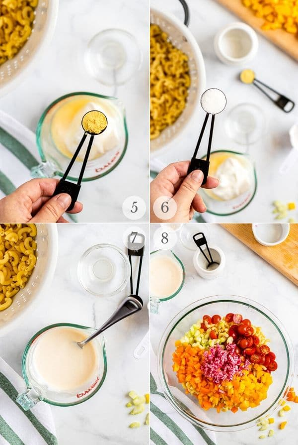 Macaroni Salad recipes steps (photos) 5-8