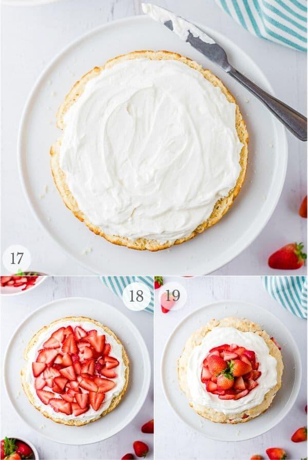 Strawberry Shortcake recipe steps photo 17-19