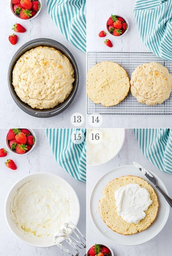 Strawberry Shortcake recipe steps photos 13-16