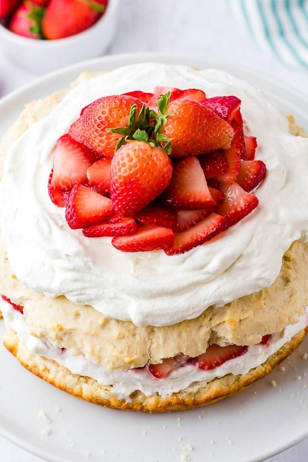 assembled Strawberry Shortcake