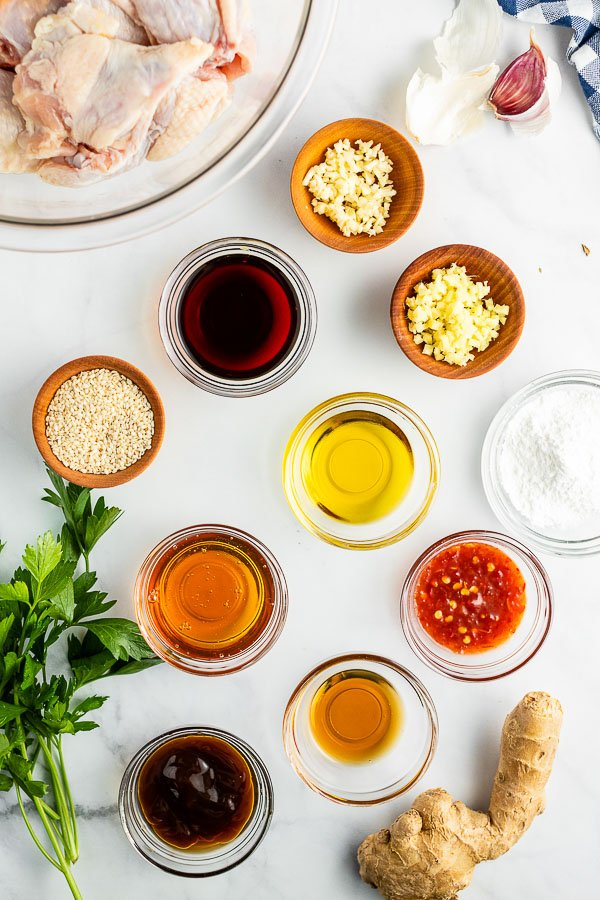 grilled chicken wings sauce ingredients