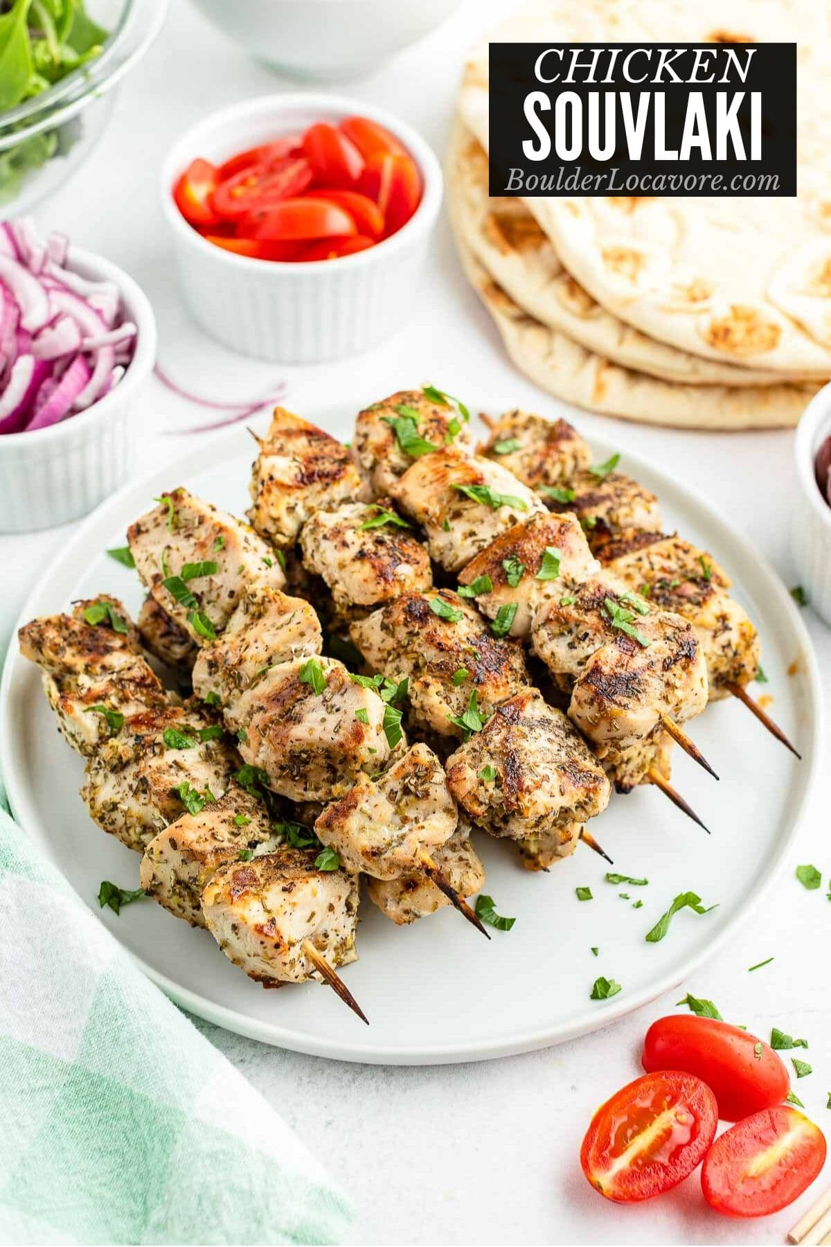 Easy Chicken Souvlaki Recipe Grilled Or Broiled Boulder Locavore