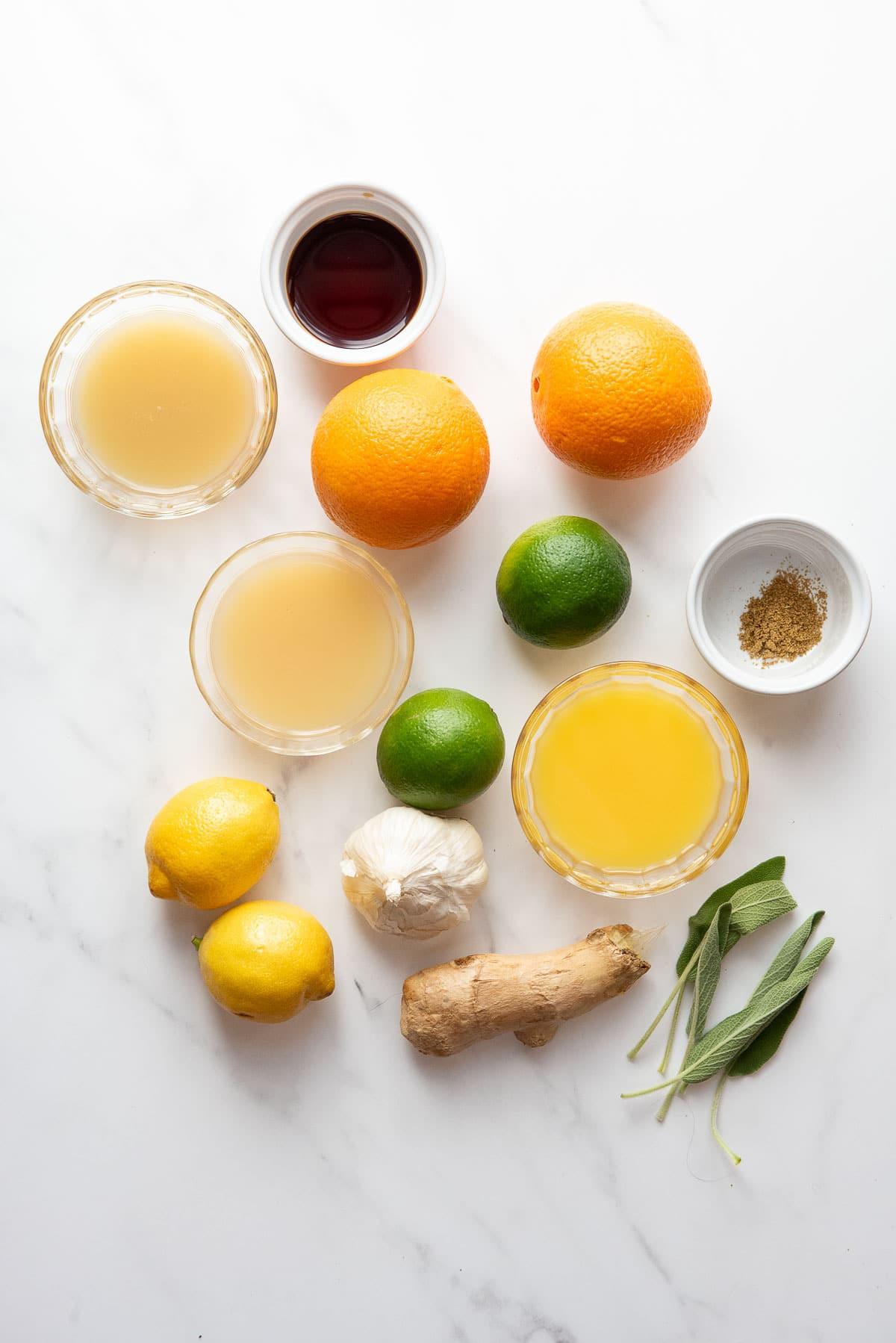 citrus chicken marinade ingredients