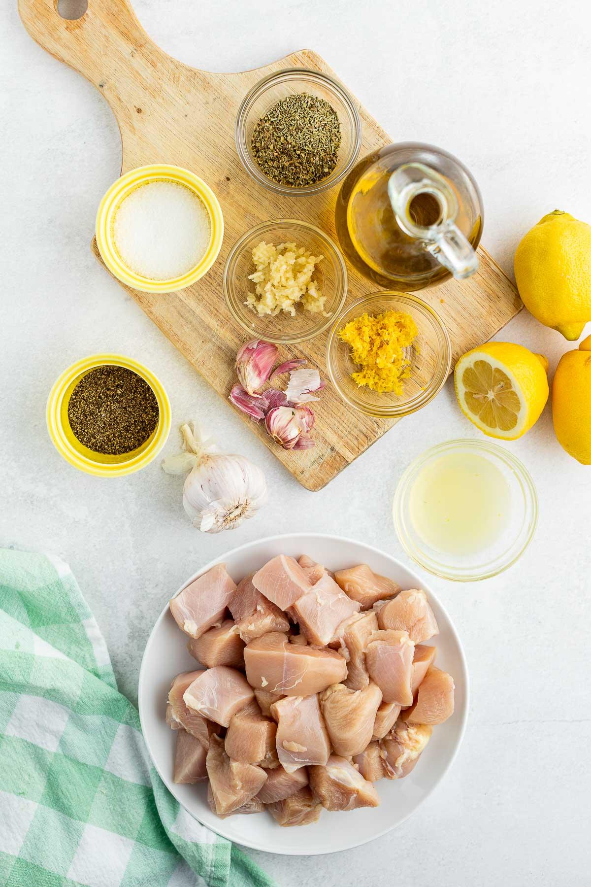 chicken souvlaki ingredients