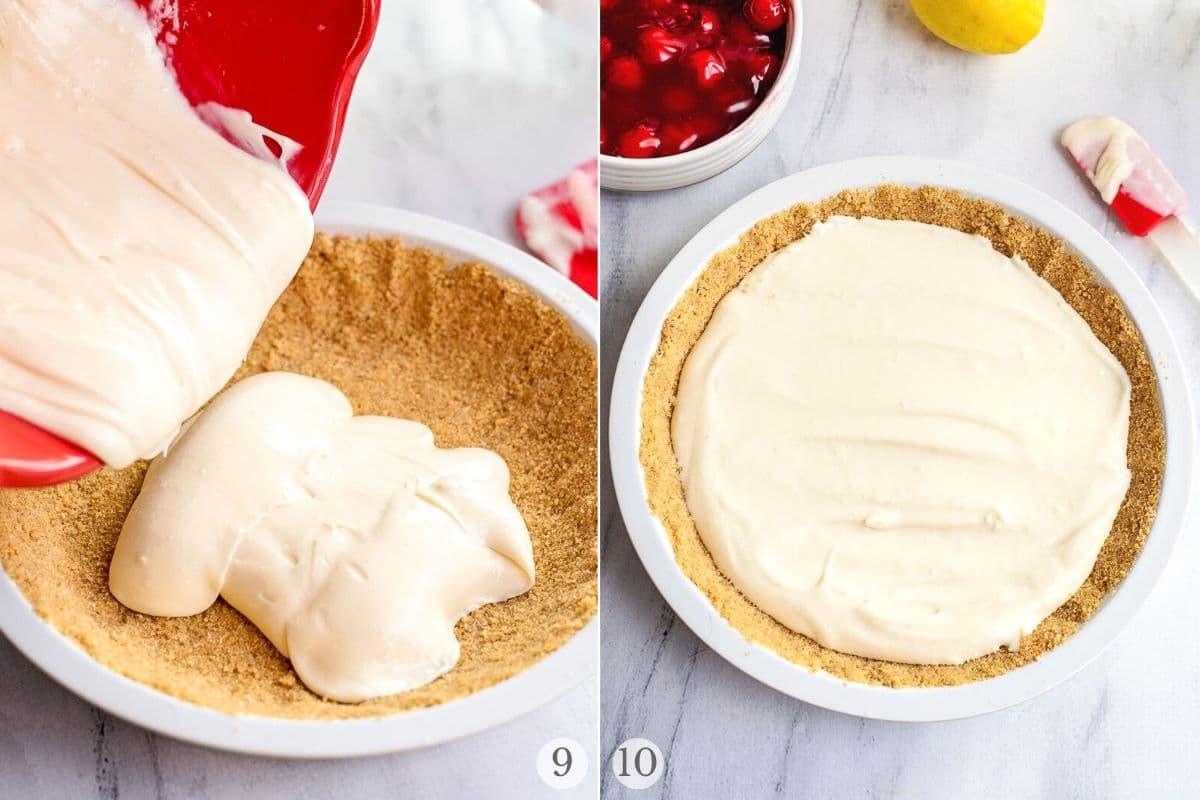 cherry cream cheese pie recipe steps 9-10