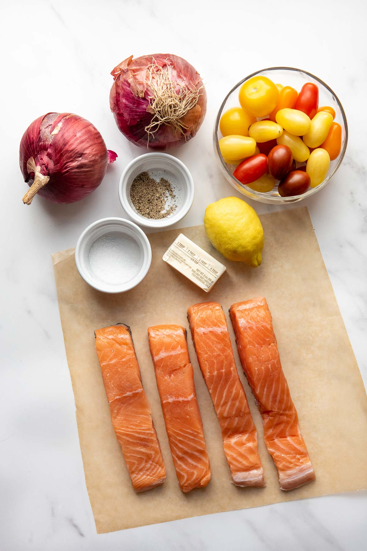 grilled salmon in foil ingredients