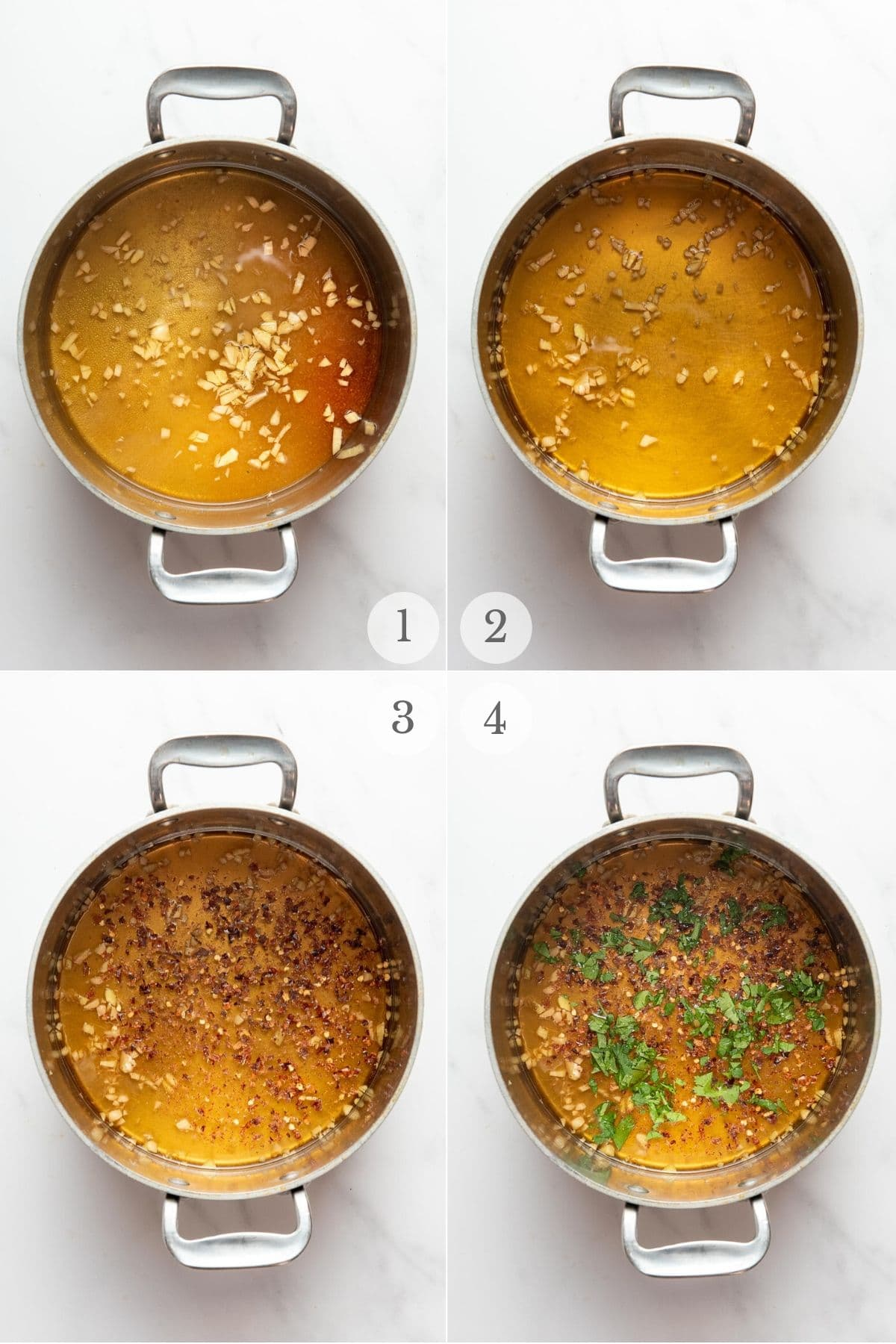 thai dipping sauce recipe steps collage