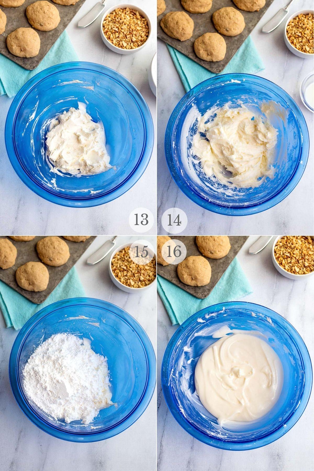 Banana Bread Cookies recipes steps 13-16
