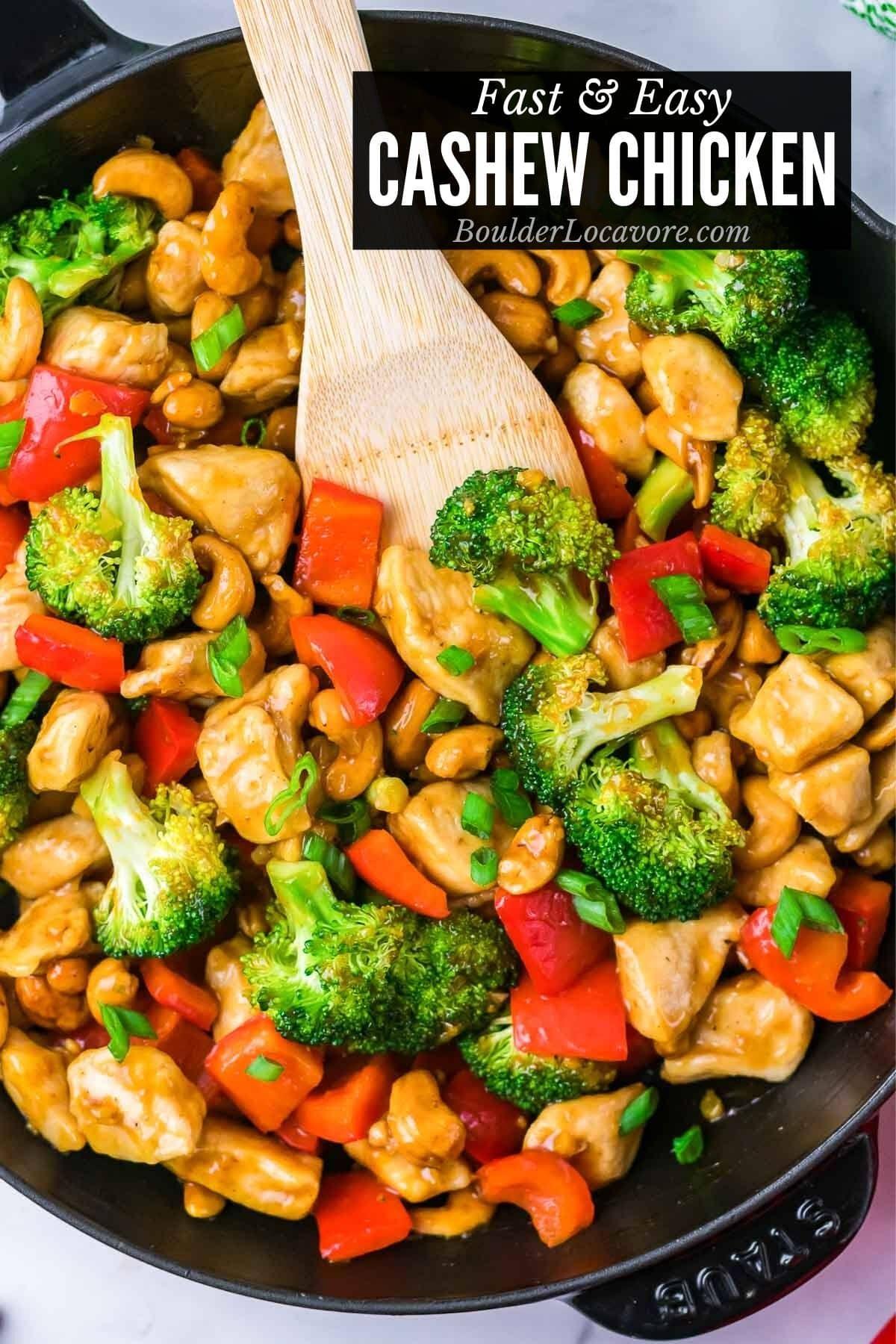 Cashew Chicken title image
