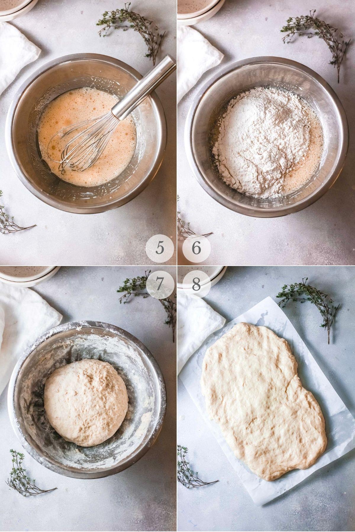 garlic bread recipe steps 5-8