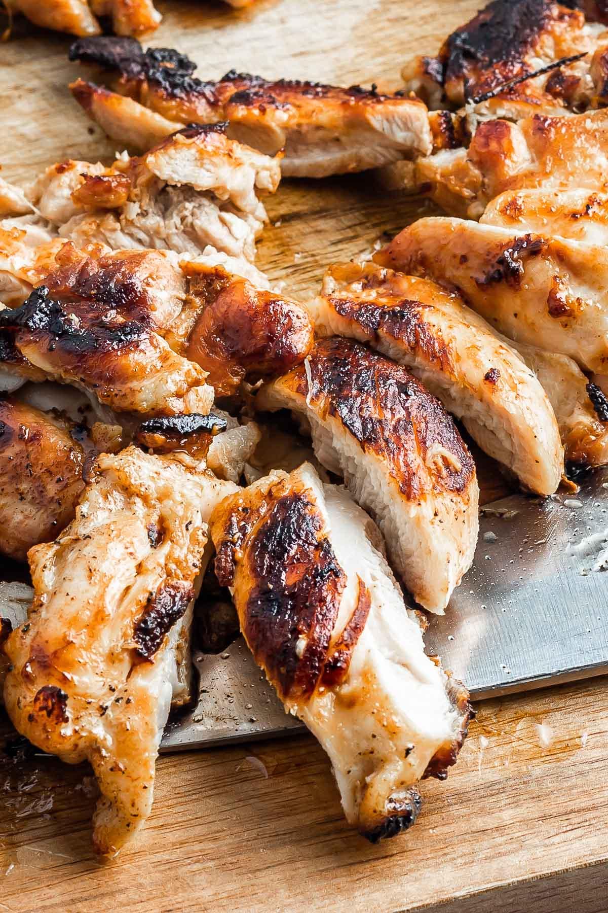 cooked lemongrass chicken