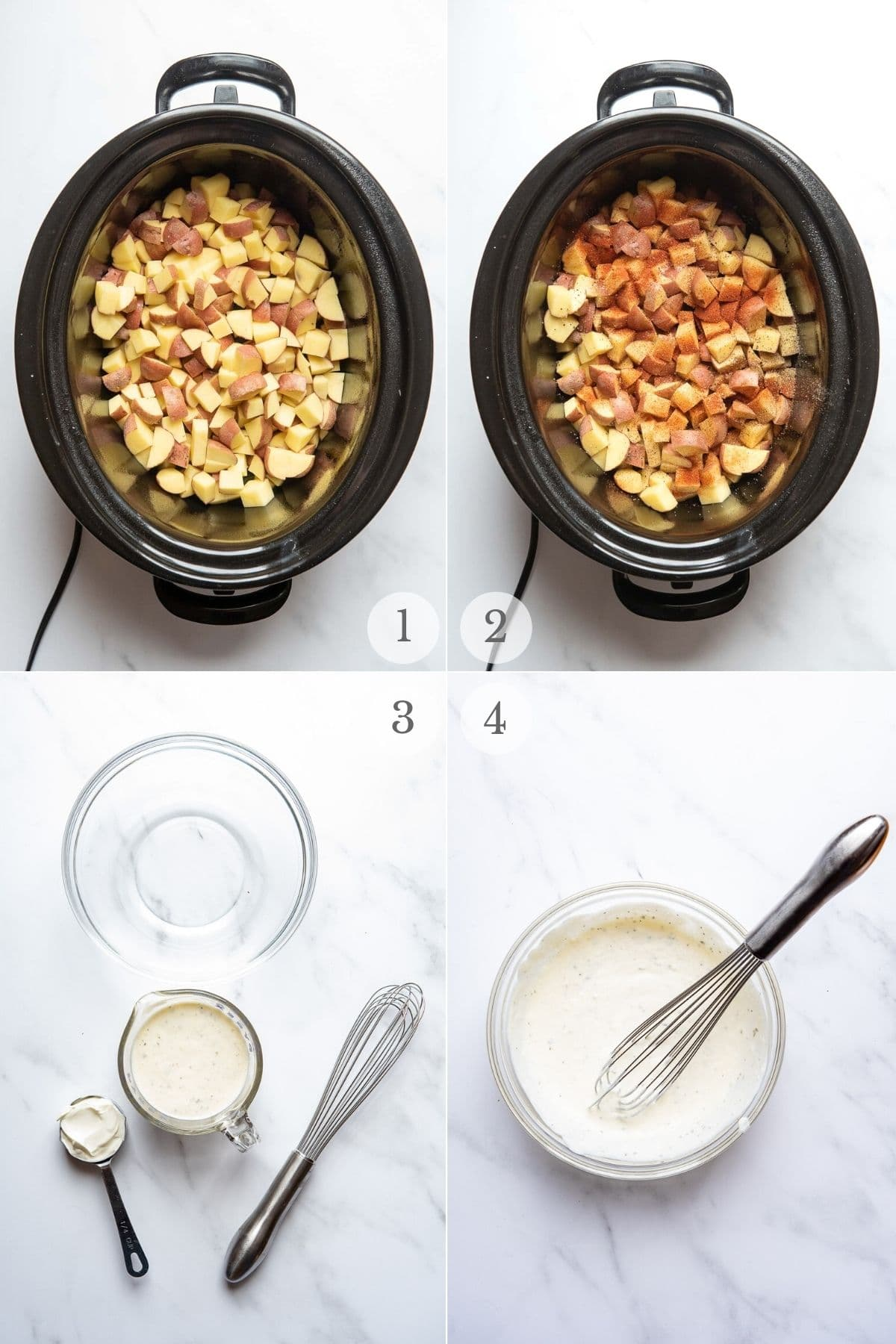 ranch potatoes recipe steps 1-4