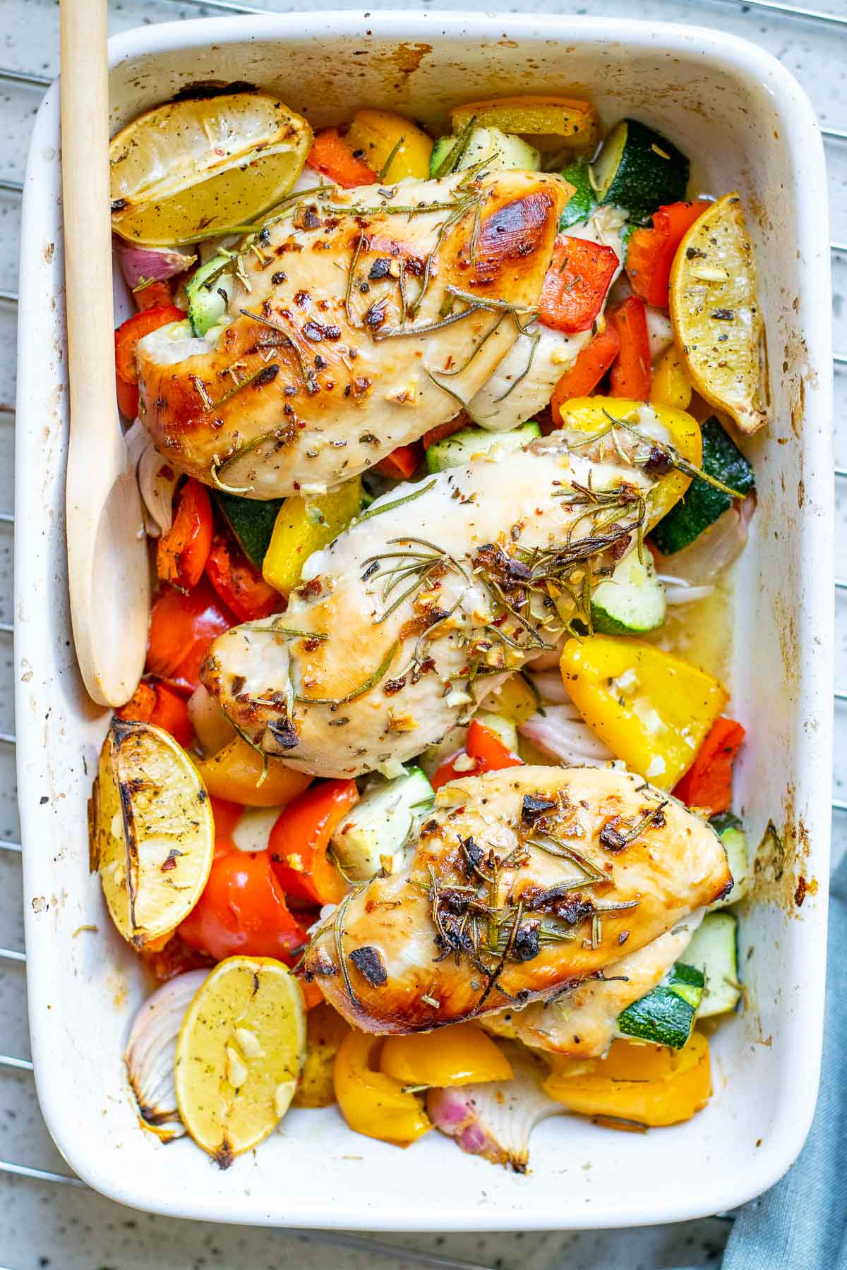 roasted chicken cooked