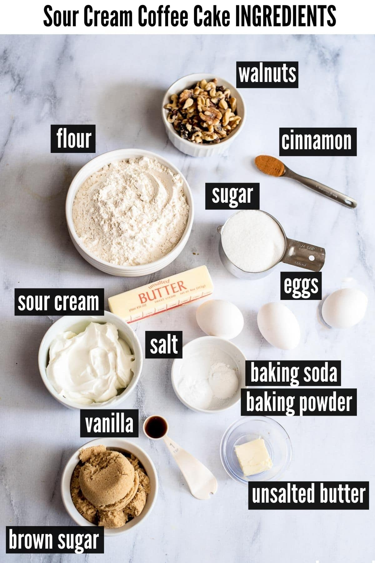 sour cream coffee cake ingredients
