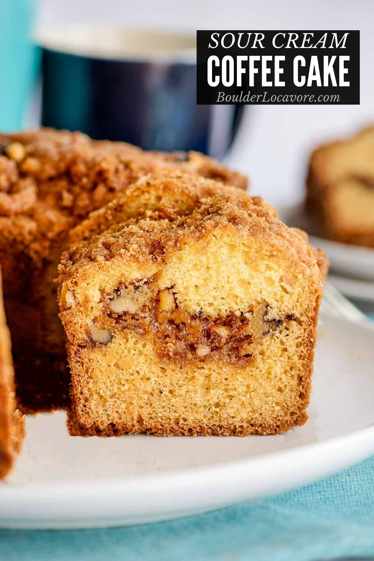 Sour Cream Coffee Cake With Streusel Topping Boulder Locavore