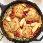 CRANBERRY APPLE SKILLET CHICKEN TITLE