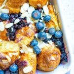 Baked French Toast with Croissants
