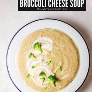 Instant Pot Broccoli Cheese Soup title
