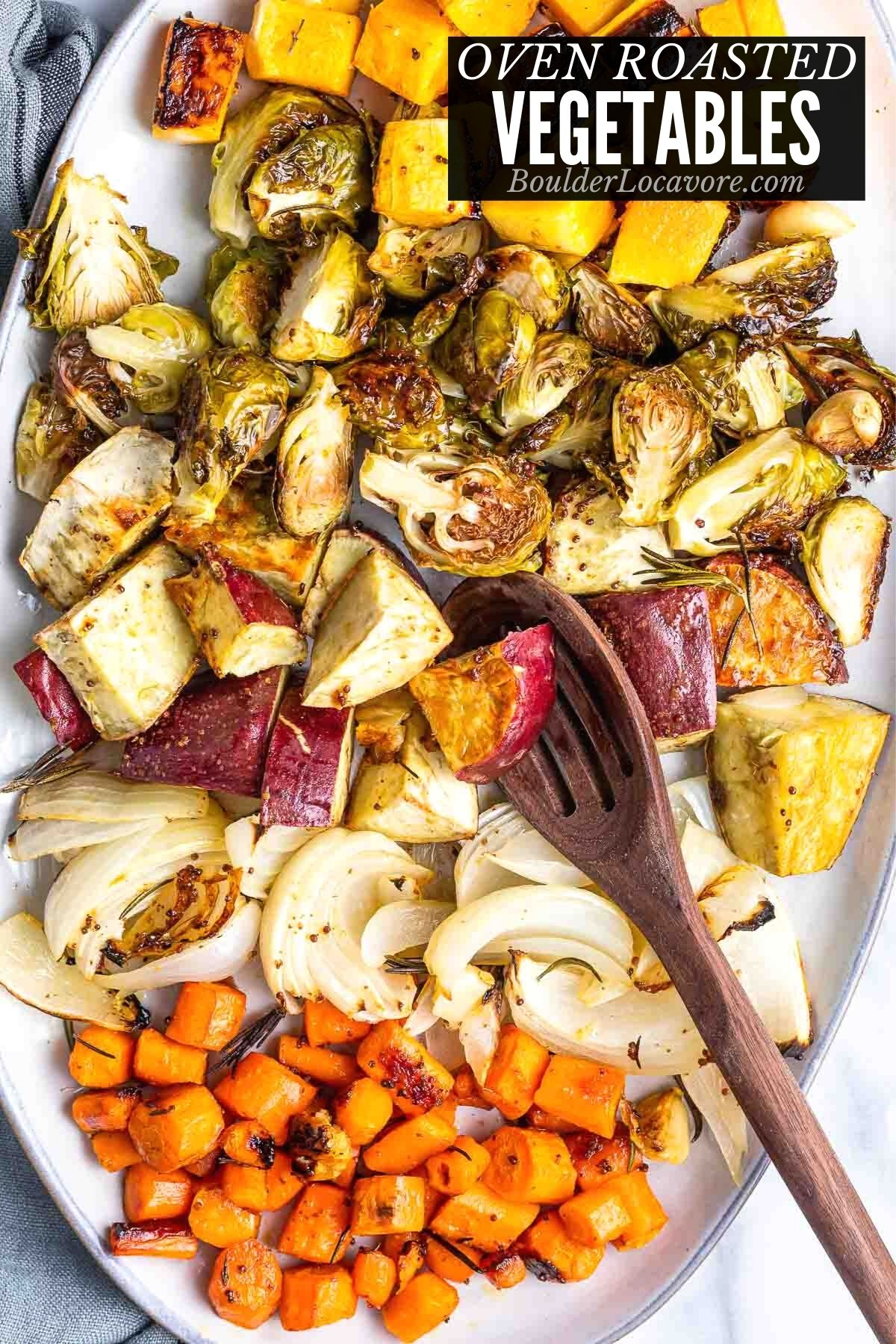 OVEN ROASTED VEGETABLES TITLE IMAGE