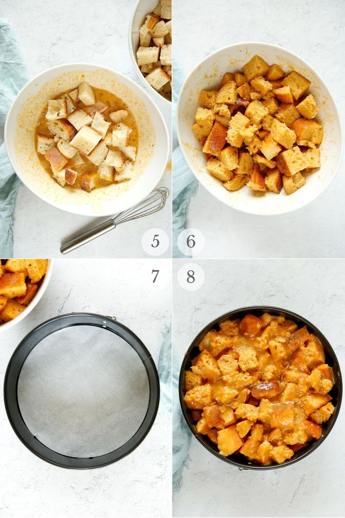Pumpkin French Toast Casserole (Instant Pot) recipe steps 5-8