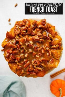 Pumpkin French Toast casserole title image