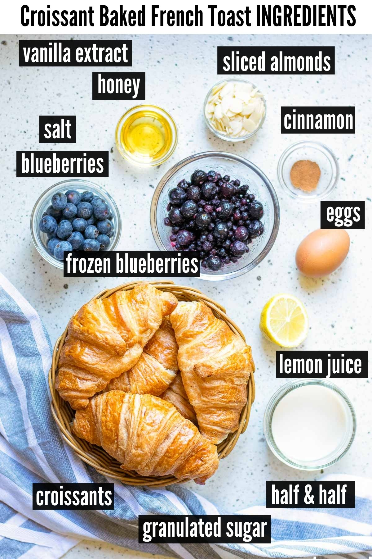baked french toast ingredients