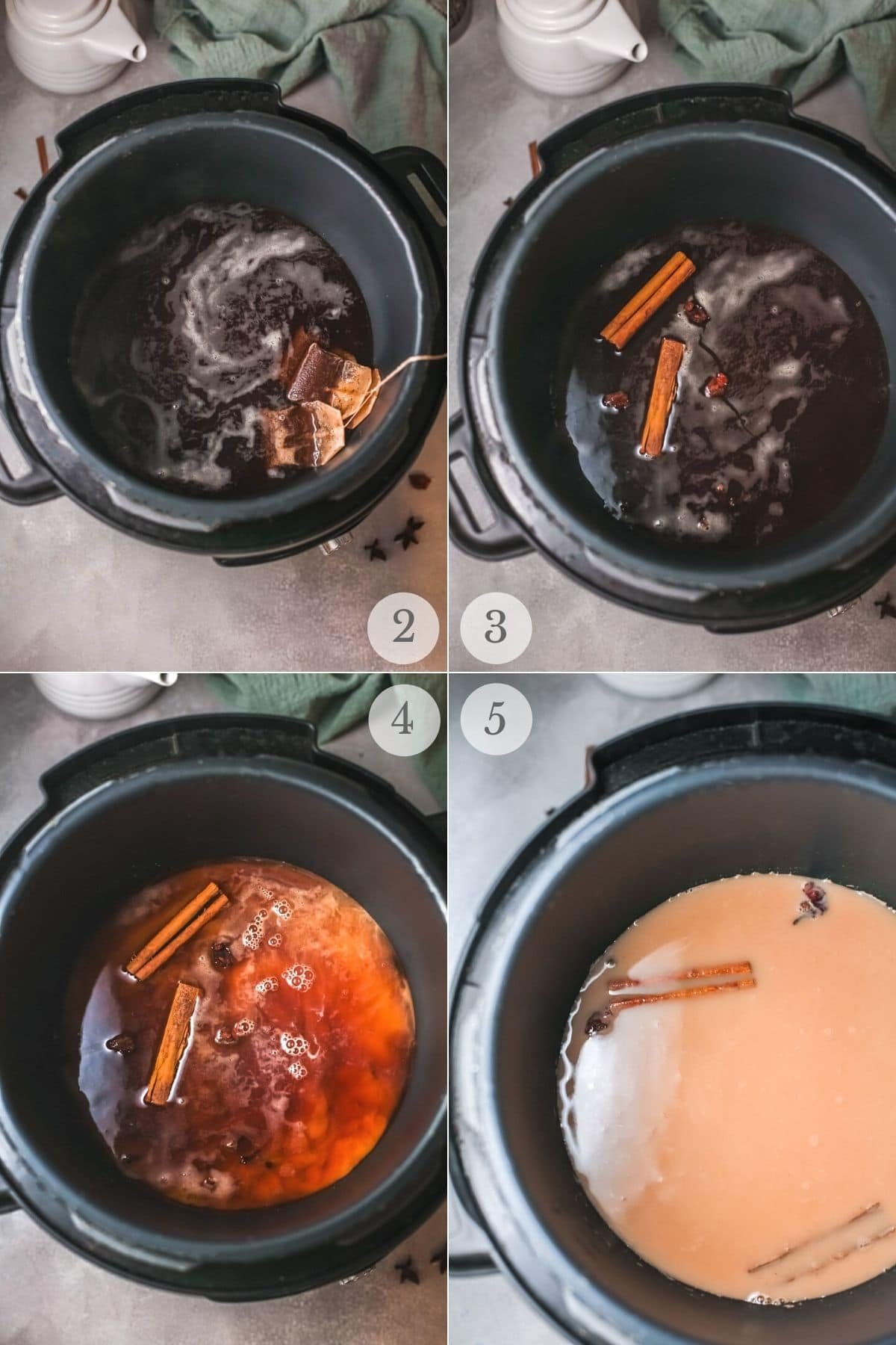 chai masala recipe steps 2-5