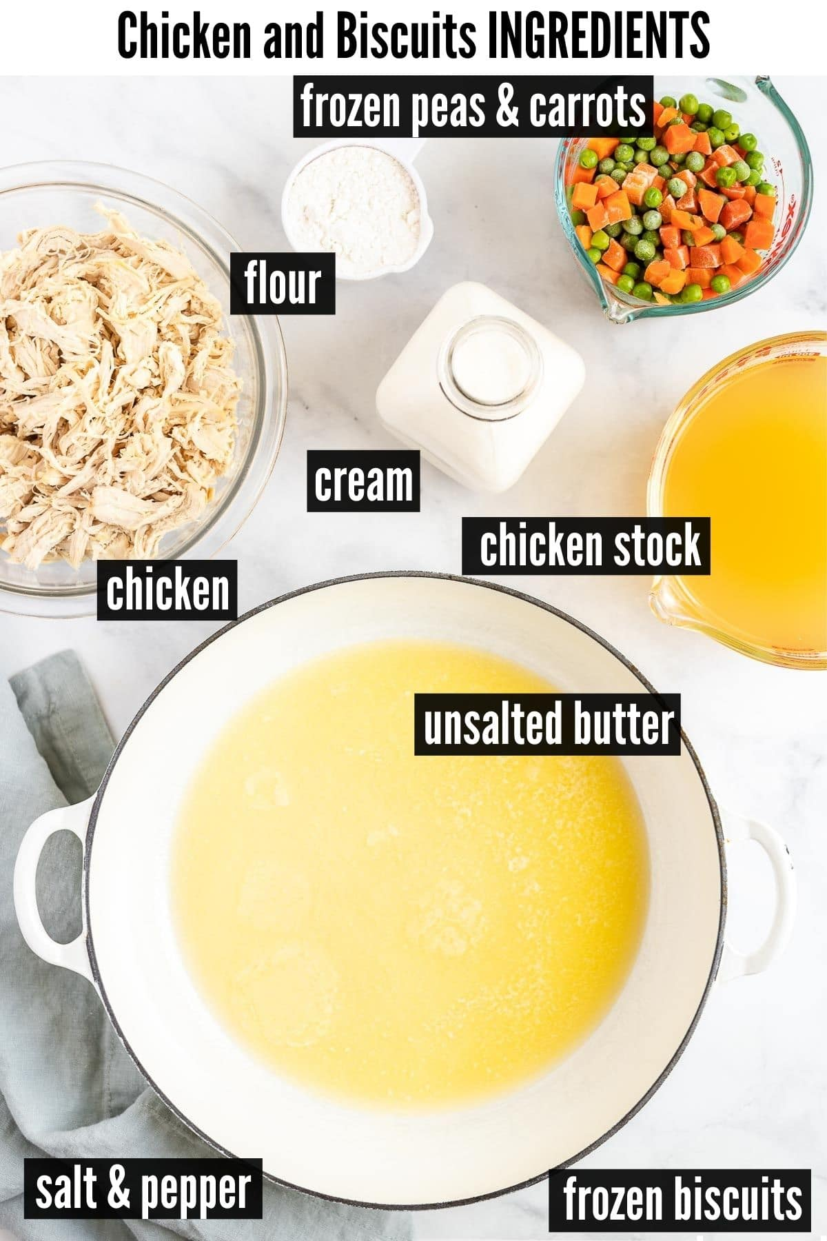chicken and biscuits ingredients