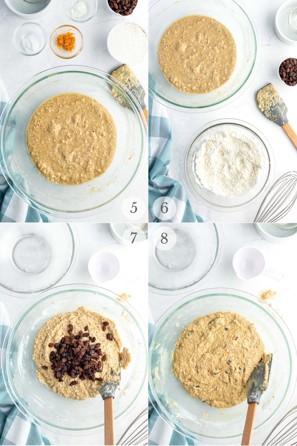oat bran muffins recipe steps 5-8