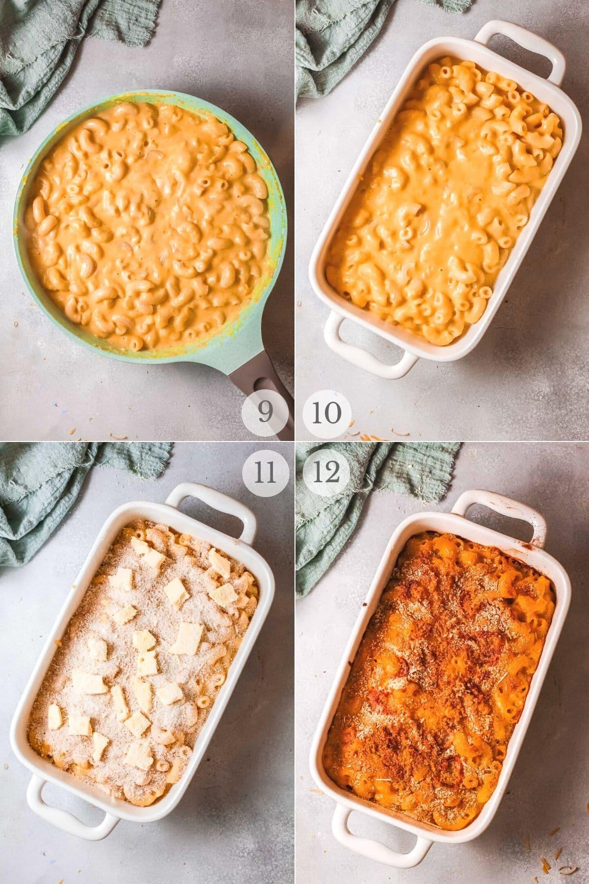 pumpkin mac and cheese recipe steps 9-12