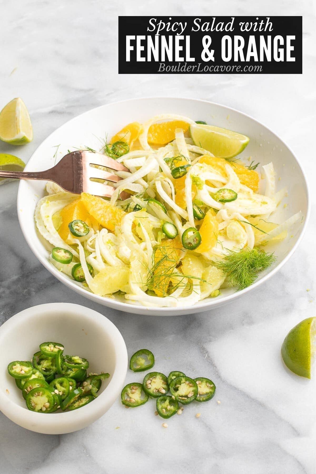 Fennel and Orange Salad title