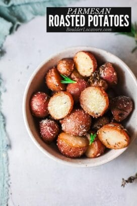 Parmesan Roasted Potatoes title