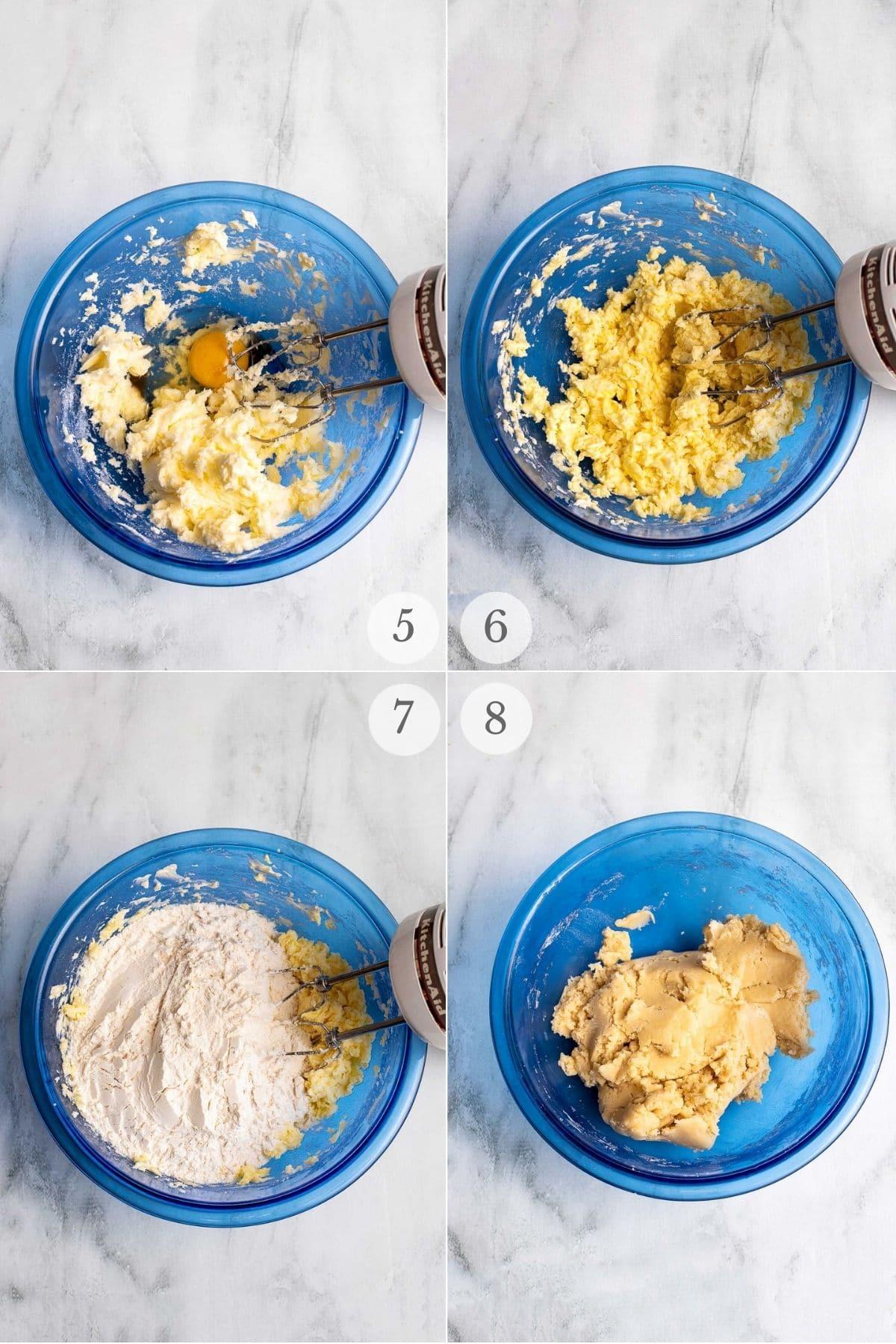 butter cookies recipe steps 5-8