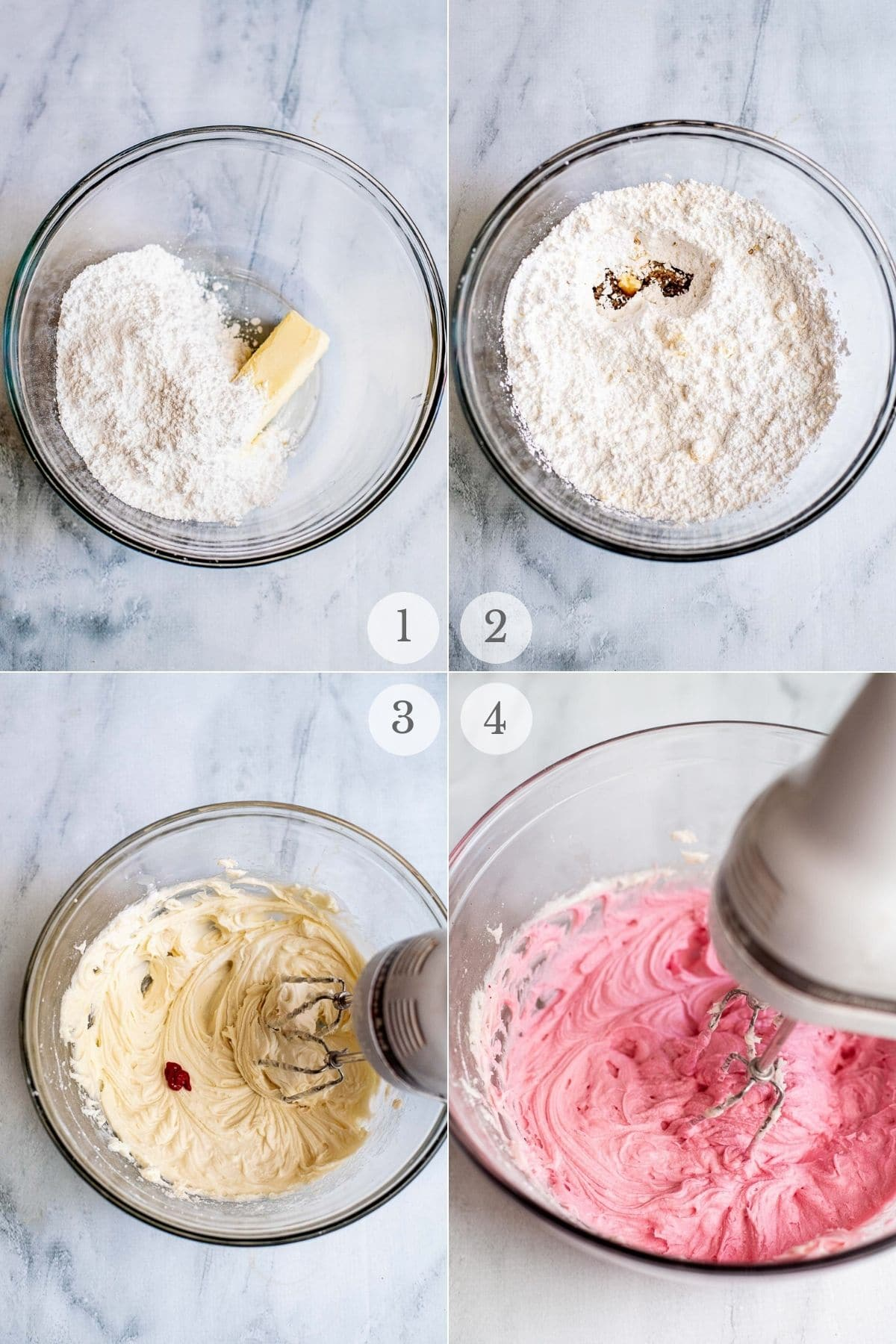 lofthouse cookie frosting recipe steps 1-4