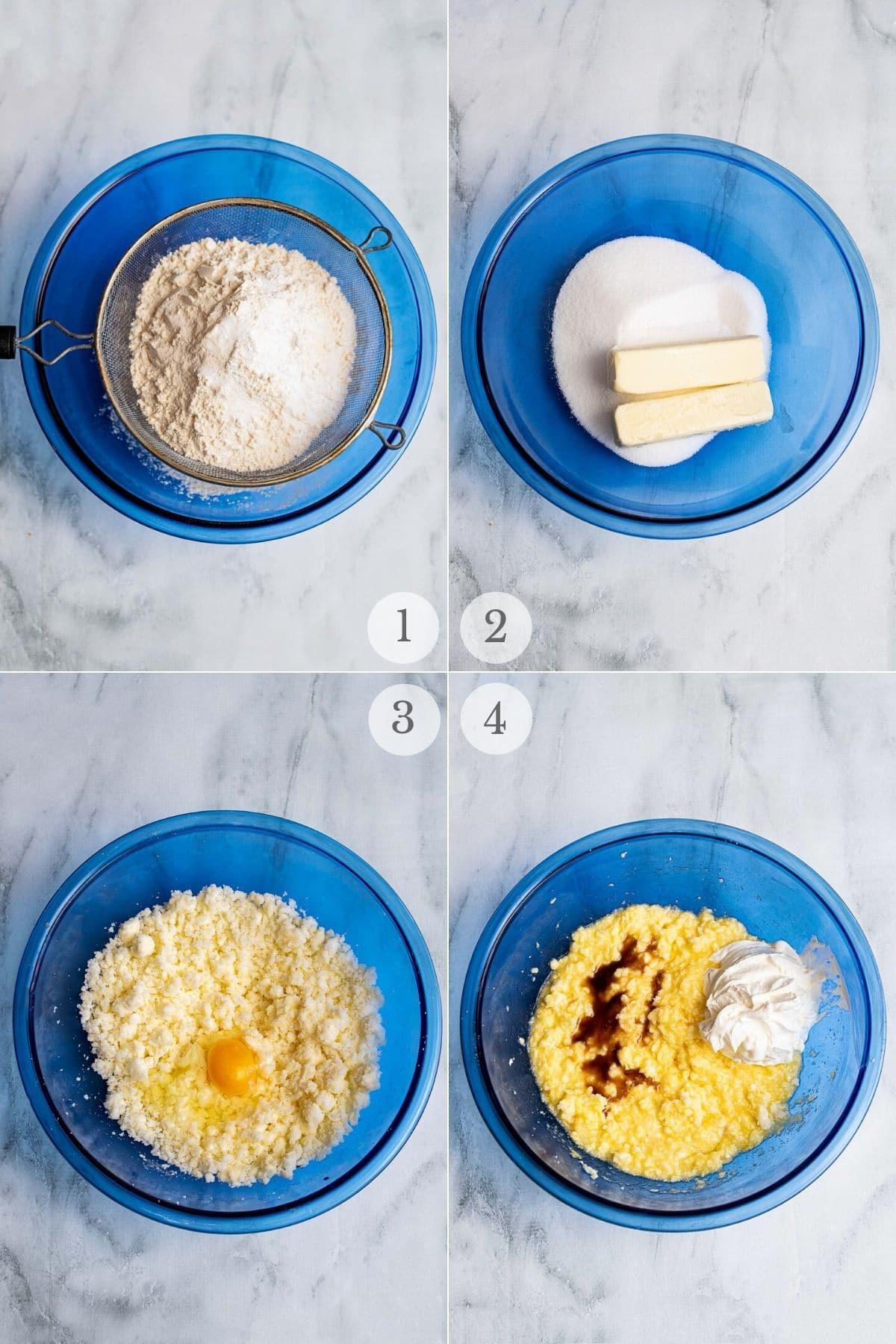 lofthouse cookies recipe steps 1-4