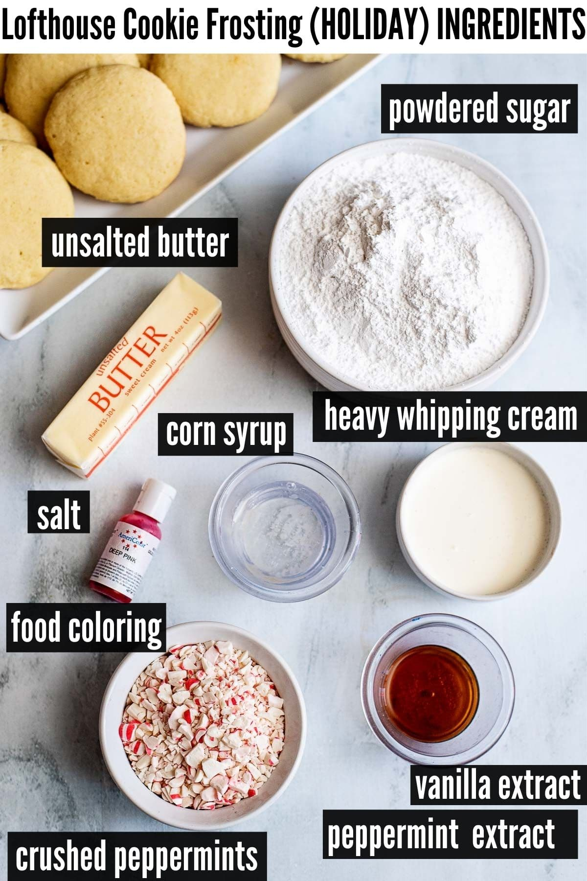 lofthouse holiday frosting ingredients