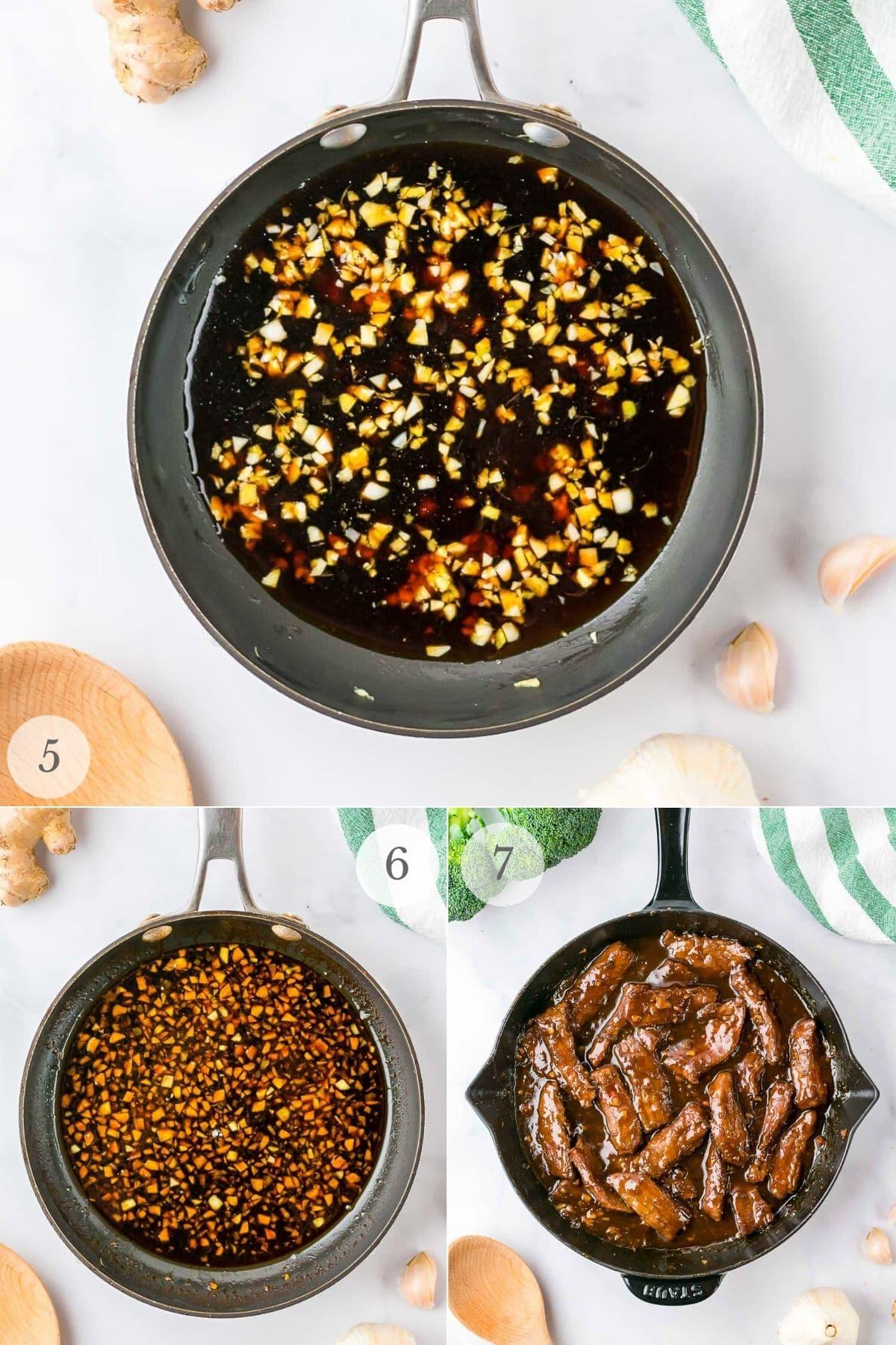 mongolian beef recipe steps 5-8