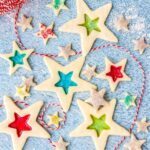 stained glass cookies title