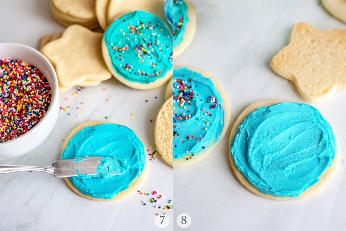 sugar cookie frosting recipes steps 7-8