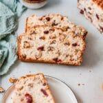 Cranberry Orange Bread (Quick Bread recipe)